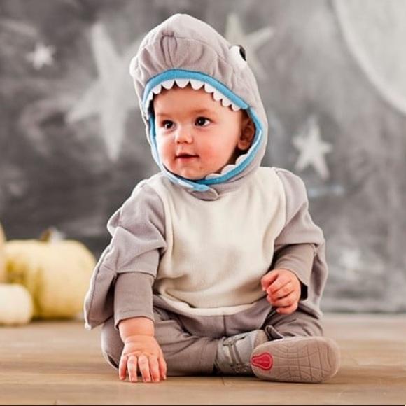 Pottery Barn Kids Costumes Pottery Barn Kids Shark Halloween Costume Poshmark